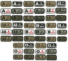 HLK Culpeper Tactical Morale Hook Patches Blood Type A- A+ B- B+ AB- AB+ O- O+