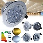1/5x 1W 3W 5W 7W 12W LED Recessed Ceiling Light Cabinet Fixture Lamp Downlight