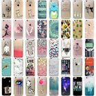 New Patterned Thin Soft TPU Silicone Cover New Back Case For iPhone 6 6s Plus 7