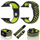 Silicone Strap For Apple Watch Band 42mm/38mm iWatch nike+ series 1 2 3