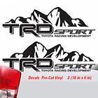 Toyota TRD Truck Mountain Sport Tacoma Tundra Decals Sticker Vinyl 2016 2017 TY