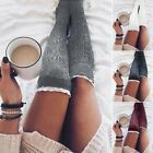Girls Ladies Women Lace Over the Knee Socks Long Cotton Stockings Winter Warm NT