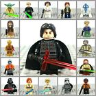 Star Wars Custom Minifigures Universal Fit JEDI LUKE SKYWALKER,KYLO REN,PHASMA £2.49 GBP