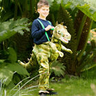 Kids Ride on Dinosaur Costume Fancy Dress Green Halloween Age 3-8 Years Amscan