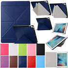Multi Fold Stand Case Smart Sleep Wake Leather Cover For iPad Air 2 Pro 97 105