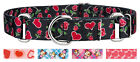 Country Brook Petz™ Martingale Dog Collar - Hearts & Valentine's Collection
