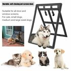 2 Way Magnet Pet Cat Dog Puppy Easy Screen Door for Patio Door Window Screens BP