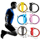 Cable Steel Jump Skipping Jumping Speed Fitness Rope Cross Fit MMA Boxing F7
