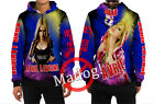 Cute Avril Lavigne All Over Print Zipper Hoodie