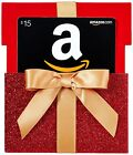 AMAZON Gift Card In A RED Gift Box Reveal | 15$ 20$ 25$ 50$ 100$ On The Cards  For Sale