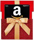 AMAZON Gift Card In A RED Gift Box Reveal | 15$ 20$ 25$ 50$ 100$ Ammount Cards  For Sale