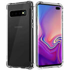 New CLEAR TPU  Shockproof Protector Case Cover For Samsung Galaxy S8 S9 S10 plus