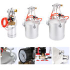 2L-15L New High Pressure Pot&Spray Gun Air Paint Tank w/Inlet Pipe Safety Valve