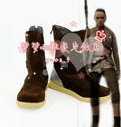 New Star Wars Rey Cosplay Shoes Halloween Costume Boots $45.0 USD on eBay