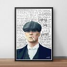 Thomas Shelby INSPIRED WALL ART Print / Poster A4 A3 / The Peaky Blinders /Tommy