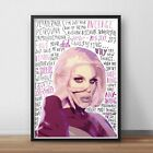 Katya Zamolodchikova INSPIRED WALL ART Print / Poster A4 A3 / Drag Queen / Actor