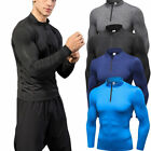 Men's Compression Tops Running Training Jogging Tights Dri fit Athletic Pants