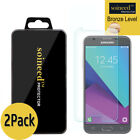 2-Pack SOINEED Samsung Galaxy J3 2017 Shockproof Tempered Glass Screen Protector