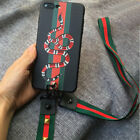 Supreme Fashion 3D Rose Snake Wristband Lanyard Soft Case For iPhone X 8 6 7Plus  iphone x cases 3d 1127162064474040 3