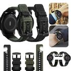Rugged Silicone Sport Wrist Band Strap + Frame Case For Apple Watch 3/2/1 42mm