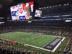 2 Dallas Cowboys Season Tickets Sec 329 Row 16 TBN 2018-19 Season (All 10 Games)