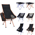 Lightweight Foldable Portable Table Chairs Ultra-Light Outdoor Travel Beach Seat