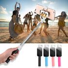 Extendable Wired Selfie Balk at support With Mirror Monopod For iPhone Samsung Smart Phone