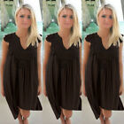 US Plus Size Lady Boho Sleeveless Party Tops Women Loose Summer Beach Lace Dress <br/> LOVELY DRESS❤EXTRA 10% OFF 2+ ITEMS ❤US FREE DISPATCH ❤