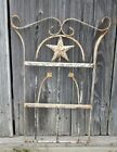 Wrought Iron Star Wall Hanging Architectural Decor