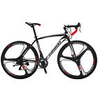 700C Road Bike Shimano 21 Speed Cycling Bicycle Disc Brakes Racing 49cm Complete