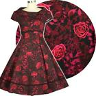 Chic Star Rose Dress Retro Prom  50s Vintage Pin Up Rockabilly Floral Print