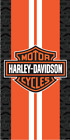 Harley Davidson Racing Stripes Beach Towel $18.95 USD on eBay