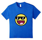 Cool Epic Face Sunglasses Graphic T-Shirt Shades Funny Meme