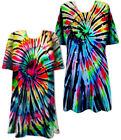 Midnight Prism Rainbow and Black Tie Dye T-Shirt