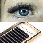 OFFICIAL TATTI LASHES Flat Lash Semi-Permanent Individual Lashes 9-14mm