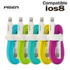 Pisen Genuine USB 2.0 Lightning Data Sync Cable Charger Line For iPhone 5 6 6+