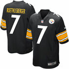 New Ben Roethlisberger #7 Pittsburgh Steelers Youth Limited Sewn Jersey Black