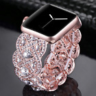 S Size Crystal Shining Brilliant Diamonds Bling Strap Wrist Band for Apple Watch