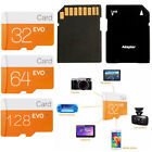 32GB Class 10 Micro SD Memory TF Card for Samsung Cameras+Adapter Lot