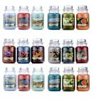 iced gingerbread & other yankee Candles 2018 New Fragrances  large Glass Jar