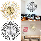 Large Metal Wall Clock Aluminium Dial Iron Digital Needle Wall Clock Home Decor