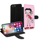Betty Boop Printed PU Leather Stand Wallet Case for Apple iPhone Models - 0017 £9.95 GBP on eBay