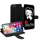 Betty Boop Printed PU Leather Stand Wallet Case for Apple iPhone Models - 0006 £9.95 GBP on eBay