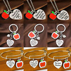 Gift for Teacher Teaching Assistant Nursery Teacher Assistant Bracelet Necklace