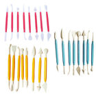 Kids Clay Sculpture Tools Fimo Polymer Clay Tool 8 Piece Set Gift for Kids CA~JH image
