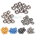 10X M3 M4 M5 Anodized Countersunk Head Washers Gasket Aluminum Alloy Colorful LJ