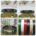Personalised ID Man Bracelet Engraved Gift  Father Lover Medical Diabetes
