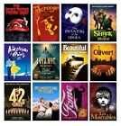 BEST MUSICAL MOVIE THEATRE A4 A3 POSTERS BUY 1 GET 2 FREE 60+ OPTIONS £6.0 GBP on eBay