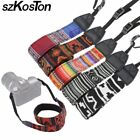 5 New Colorful Vintage Camera Neck Shoulder Strap Belt Hippie Style Belt Durable