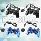 Fits Sony PlayStation 2 PS2 Video Game System Controller Keypad Replacement Pair